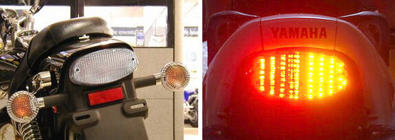 Clear Integrated Tail Light Top Zone TZY-042-INT