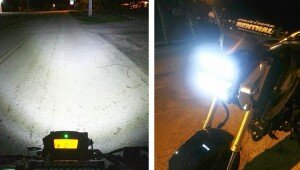 Honda Grom Double Row LED Headlight Upgrade | Chrome Glow