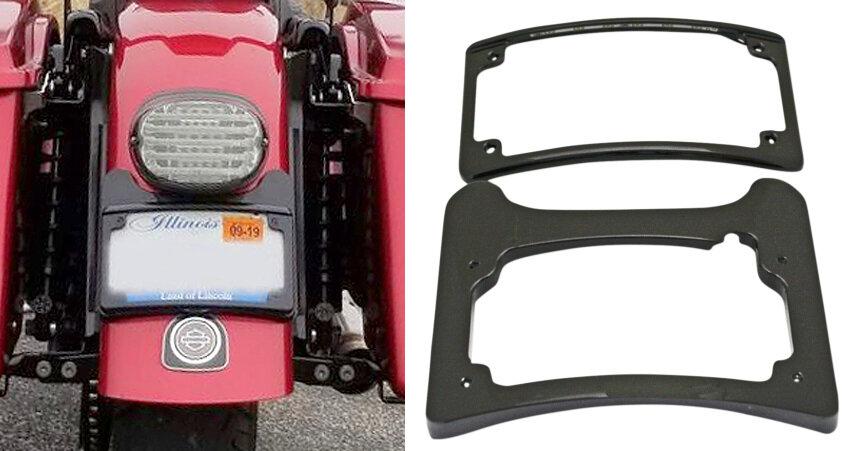 Spot Fog Light Bracket Turn Signal Fit For Harley Touring Road King 2014-2020 US