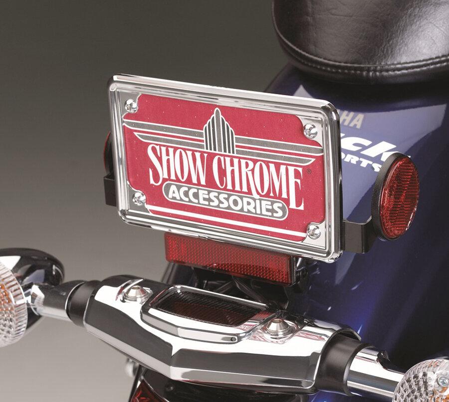 Show Chrome Accessories 4-257 Britain License Plate Trim
