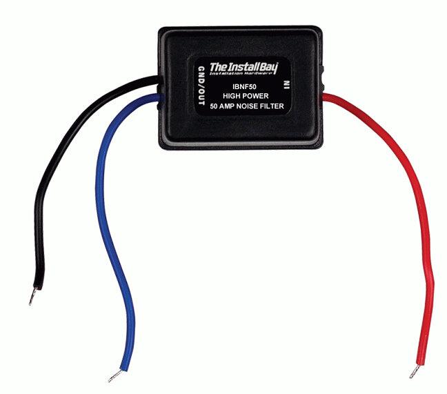 Motorcycle In-Line Engine Noise Audio Speaker Filter