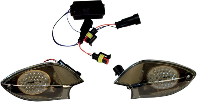 can am spyder front led turn signal upgrade kit Tail Lights Product can am front led turn signals