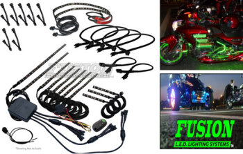 Multi Color and RGB LED Accent and Under Glow Kits
