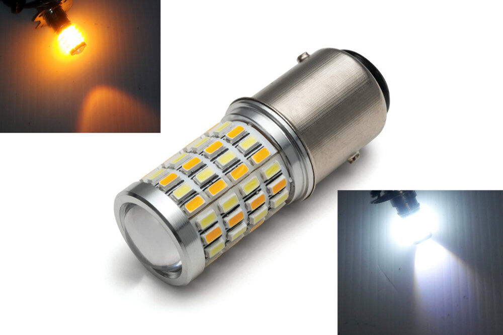 Kuryakyn LED Turn Signal Bulb 1157 RED