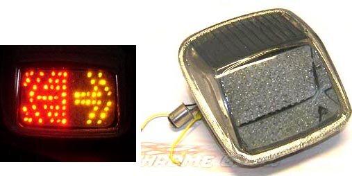 Integrated LED Taillight for Harley Davidson V-Rod