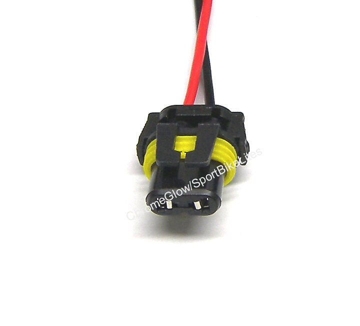HID Ballast Wiring Harness Extension Cable for 9005, 9006