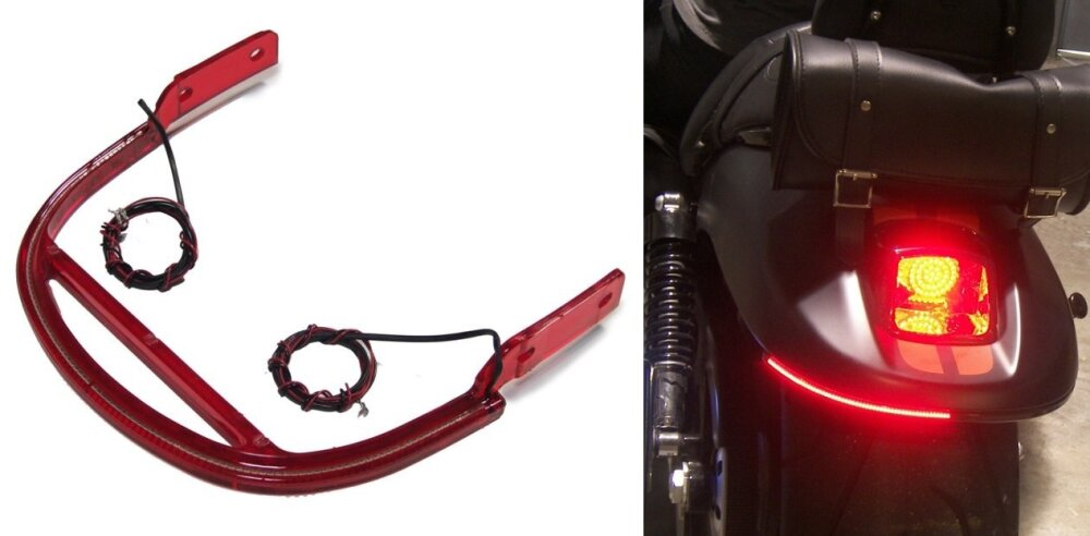 MBW Rear LED Turn Signal Kit for Harley Davidson V-Rod models Harley Davidson Turn Signal Wiring Harness on