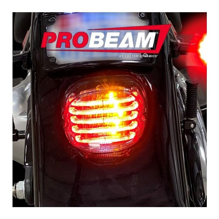 ProBEAM LED Integrated Laydown Taillight For Harley