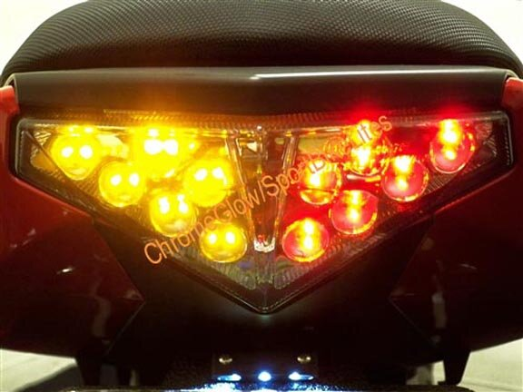 Replacement Integrated Led Taillight For Kawasaki Ninja