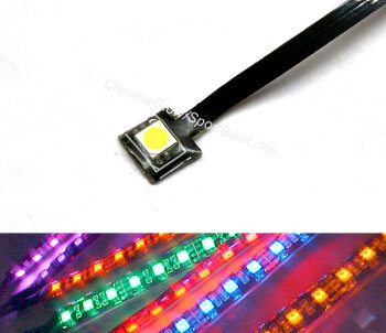 Motorcycle LED Accent Lights, LED Strips, and UnderGlow Kits
